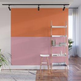 Peach Wall Mural