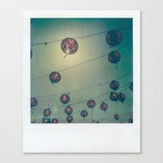 Lanterns Canvas Print