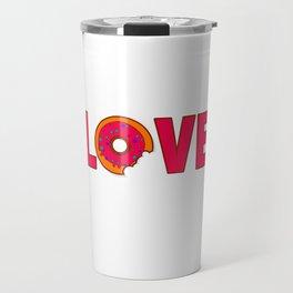 Donut Lover gift idea Travel Mug