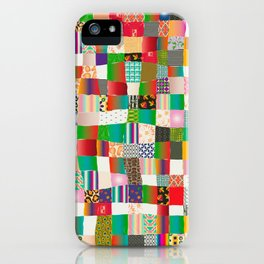 Poster Background | Patchwork Multicolor iPhone Case
