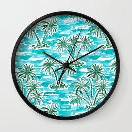 PALM WONDERLAND Wall Clock