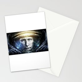Space President Stationery Cards