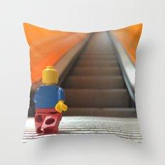 Going Up! Throw Pillow
