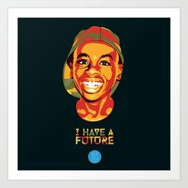 Rafiki Familia - Phillip Art Print