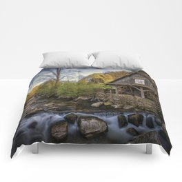 Autumn Water Wheel Comforters