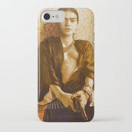 Frida Gun iPhone Case