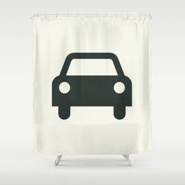 Car Shower Curtain
