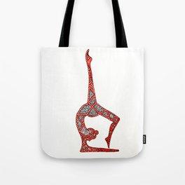 yogi flex Tote Bag