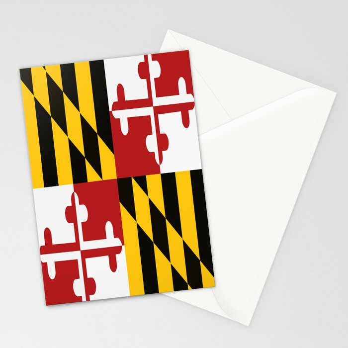 Maryland Colours Stationery Cards