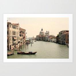 Bridge Views of Venezia  Art Print