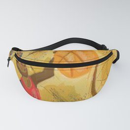 2 point perspective Fanny Pack