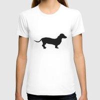 dachshund T-shirts featuring Dachshund by DustinSingler
