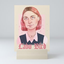 LADY BIRD Mini Art Print