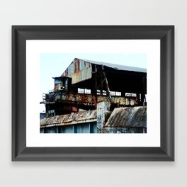 "Old Sugar processing plant ""Coloso"" 6 @ Aguada Framed Art Print"
