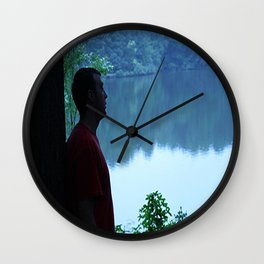 Soul Searching Reflections Wall Clock