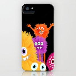 Hooray! Little Monsters iPhone Case