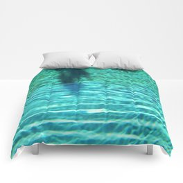 pool picture Comforters