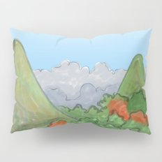 Asian Hills and forest Pillow Sham