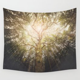 I found a tree in the forest Wall Tapestry