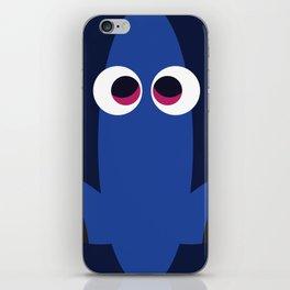PIXAR CHARACTER POSTER - Dory - Finding Nemo iPhone Skin