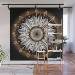 Feather Design Wall Mural