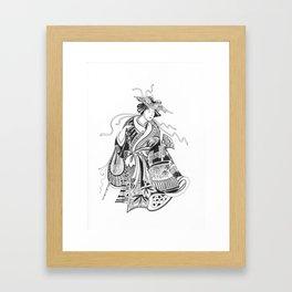 Japanese Inspiration Framed Art Print