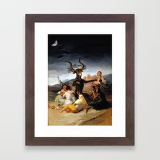 Witches Sabbath Framed Art Print