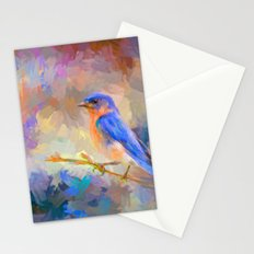 Bring On The Bluebirds Stationery Cards