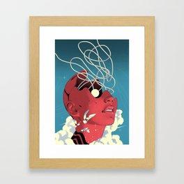 The Electric Eye Framed Art Print