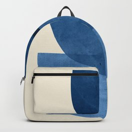 Abstract Shapes 37-Blue Backpack