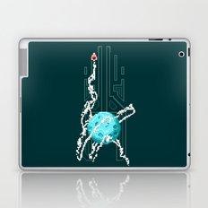 Pixels Planets : moon Laptop & iPad Skin
