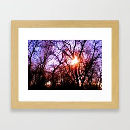 The Color of Love Framed Art Print