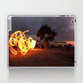 BALI DREAMING SUNSET AND FIRE-TWIRLING MAGIC Laptop & iPad Skin