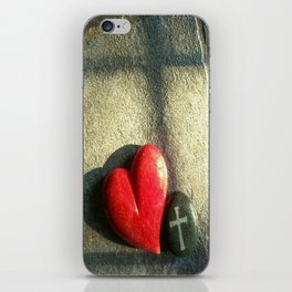 """""""Heart and Soul"""" iPhone Skin"""