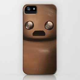 Herb the Portraitbot iPhone Case