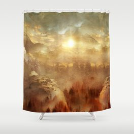 Wish You Were Here (Chapter I) Shower Curtain