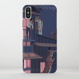 Tiger Playhouse iPhone Case
