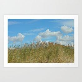 Dune du Touquet, France Art Print