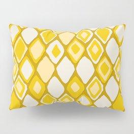 Almas diamond ikat gold Pillow Sham