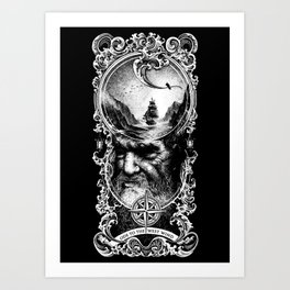 Ode to The West Wind Art Print