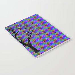 Psychedelic Mystery Tree Notebook