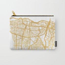 BEIRUT LEBANON CITY STREET MAP ART Carry-All Pouch