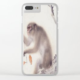 Monkey Vector After Hashimoto Kansetsu Clear iPhone Case