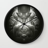 spirit Wall Clocks featuring Spirit by Dr. Lukas Brezak