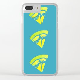 Lemon Wedge Clear iPhone Case