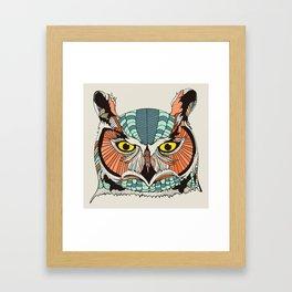 OWLBERT Framed Art Print