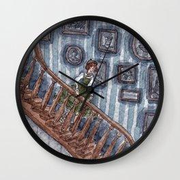 Going Down Wall Clock