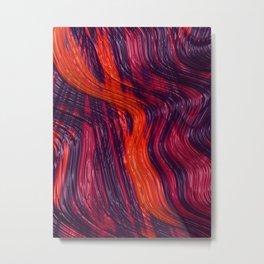 Be My Lava Metal Print