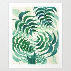 Botanical vibes Art Print