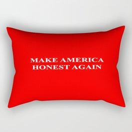 Make America Honest Again Rectangular Pillow